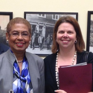 Probably one of the best photo-ops of my life with Congresswoman Eleanor Holmes Norton. I'm a frikkin' gladiator.